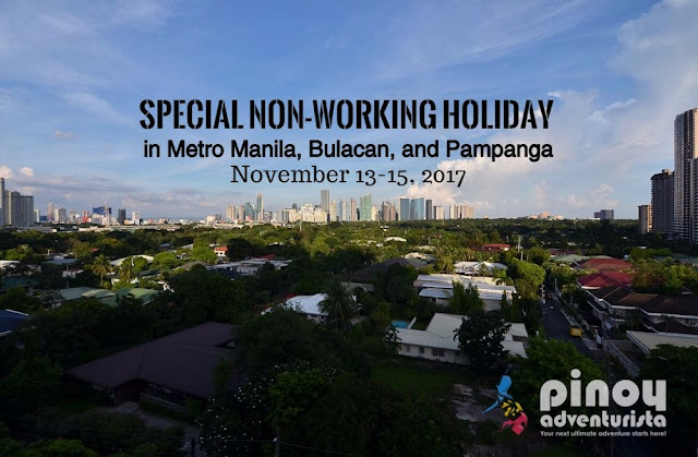 ASEAN SUMMIT holidays in November 2017 Metro Manila Philippines