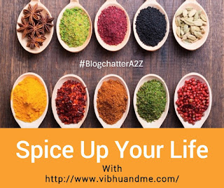 Spices of India - Vibhu & Me