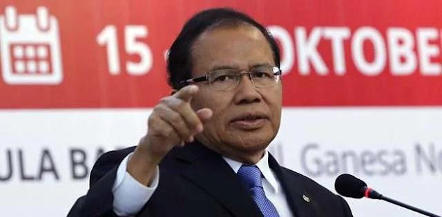 Saat Ditanya Kenapa Tidak Pernah Mengkritik Presiden Jokowi,  Rizal Ramli Mengaku.....