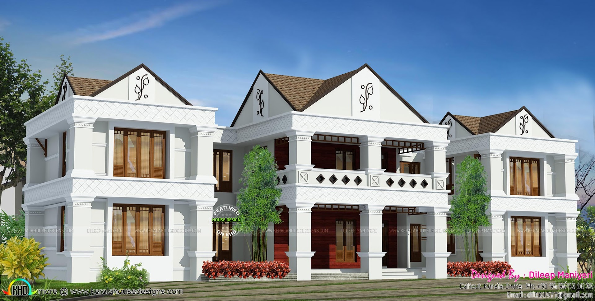 Arabic style house plan in india kerala home design and for Arabic home design