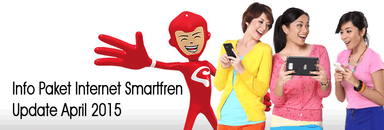 Info Paket Internet Smartfren, Update April 2015