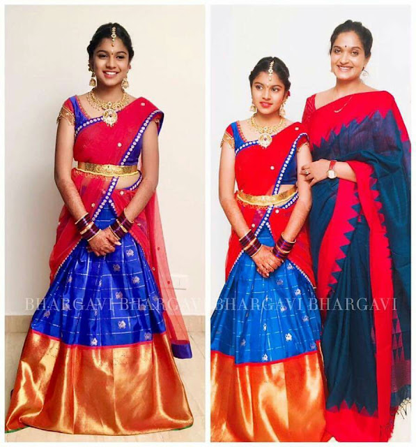 Actress-Roja-daughter-Anshu-Mallika-Half-Saree-Ceremony3