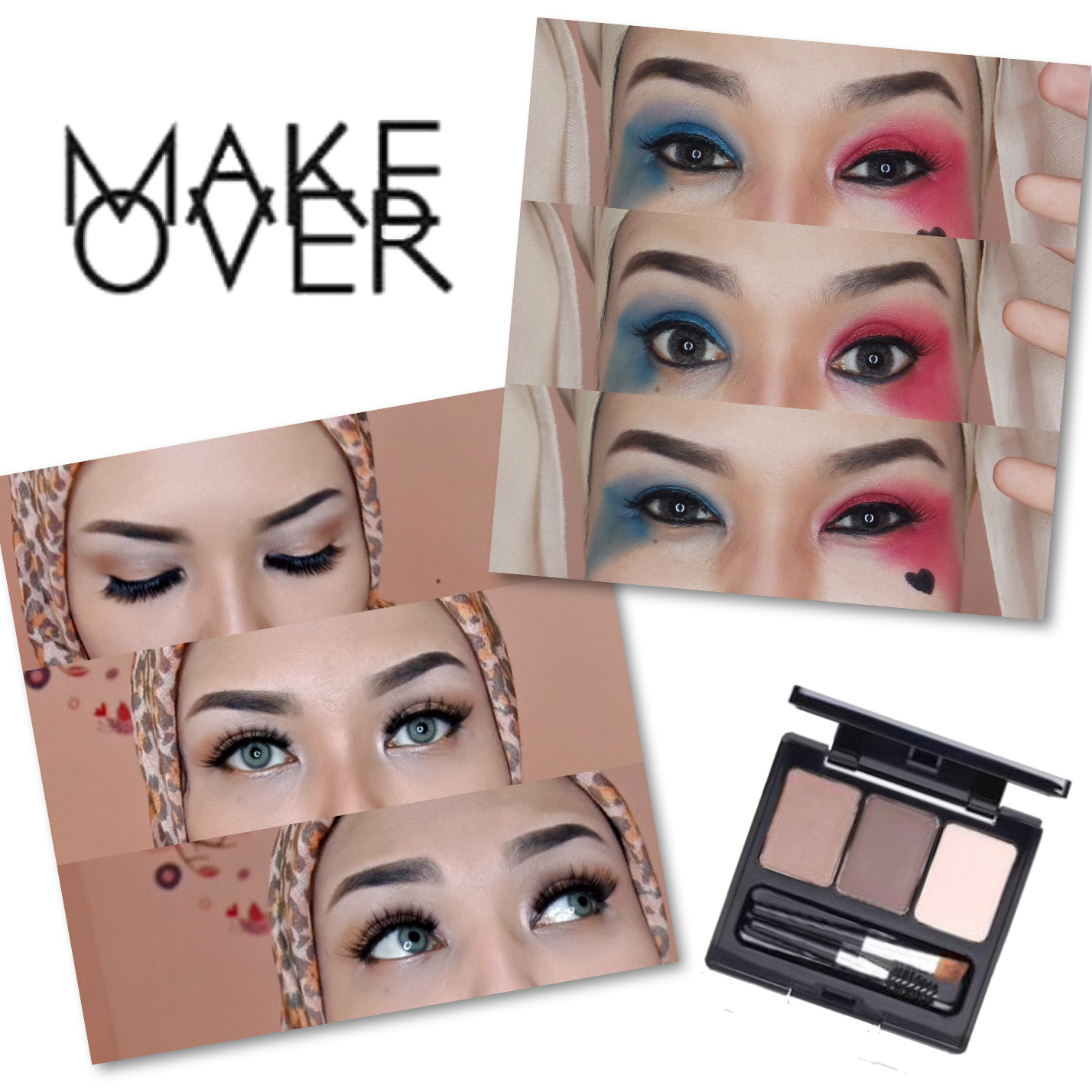 Putris Beauty Blog Review Makeover Eyebrow Definition Kit