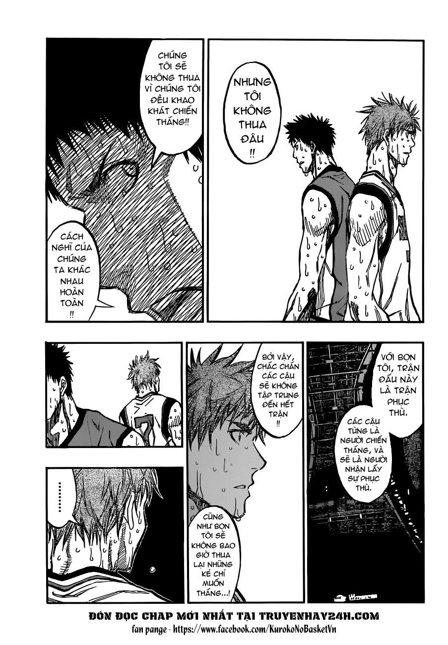 Kuroko No Basket chap 194 trang 5