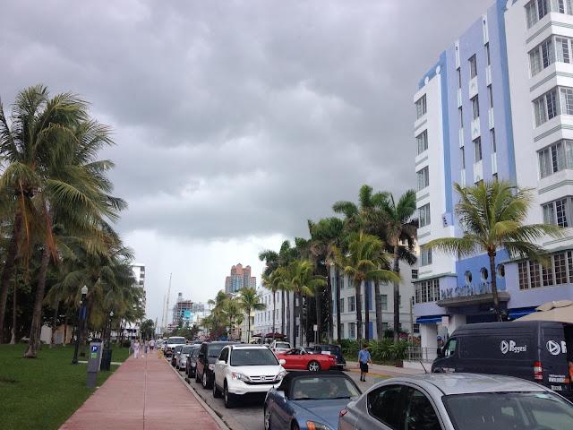 Miamissa lapsen kanssa