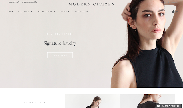 Modern Citizen Shop Fashion Online Minimal Brand