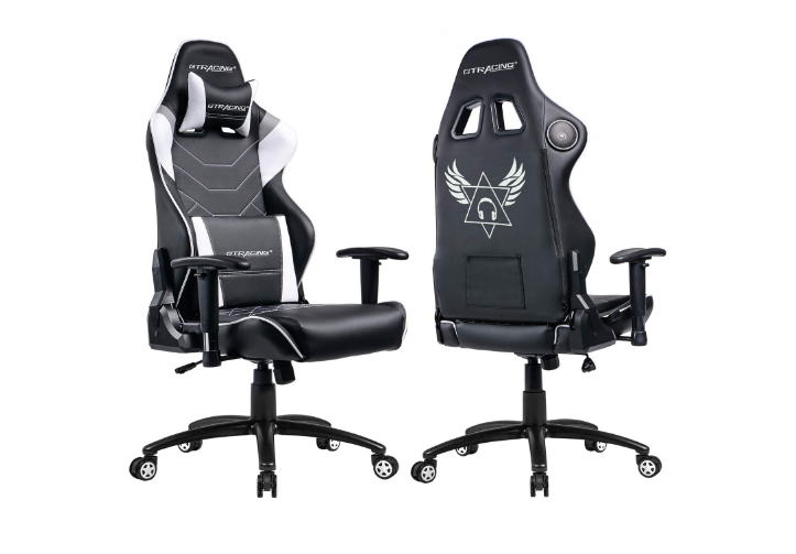 GTRACING Music Gaming Chair with Bluetooth Speakers