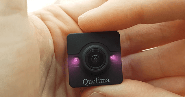 تعرف على أصغر كاميرا في العالم Quelima SQ12 Mini بسعر لا يتعدى 14$ !