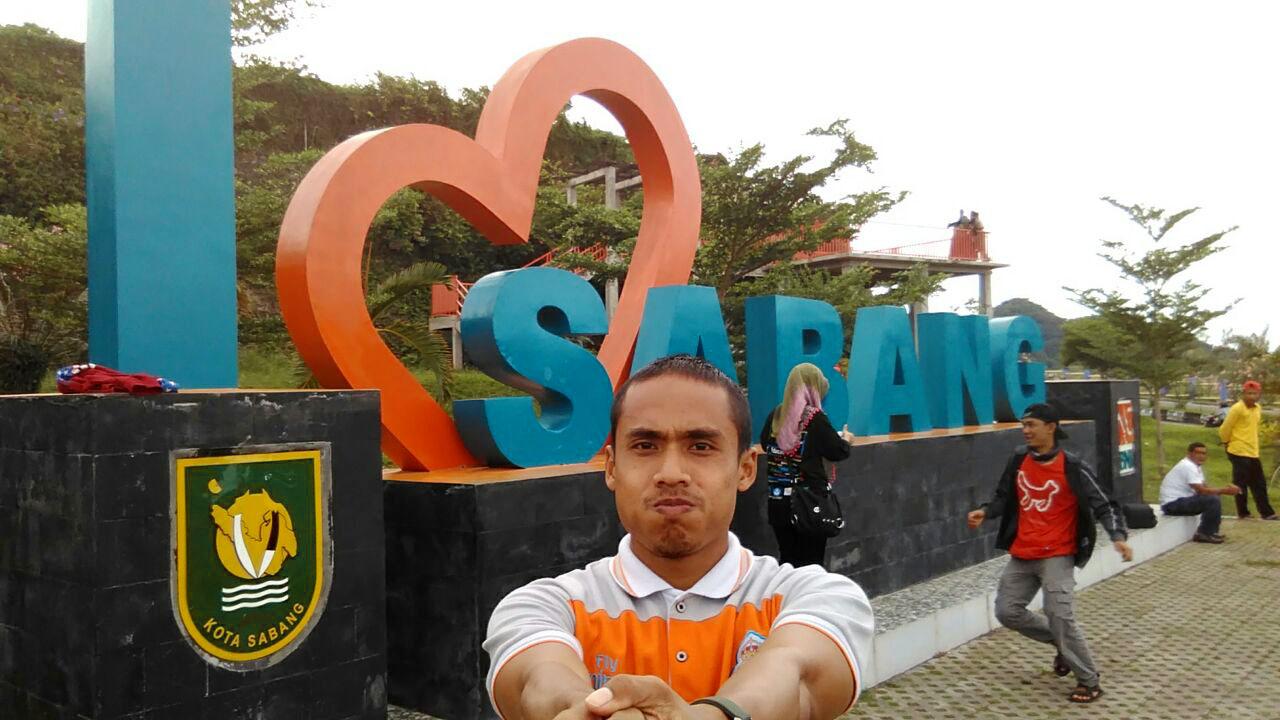 Tugu 'I Love Sabang'