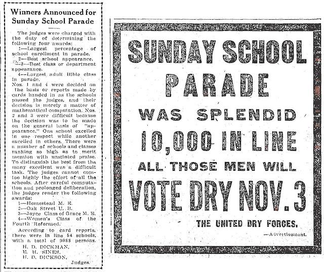 Sept 26, 1914 Dayton Daily News Edwin Sines judge.