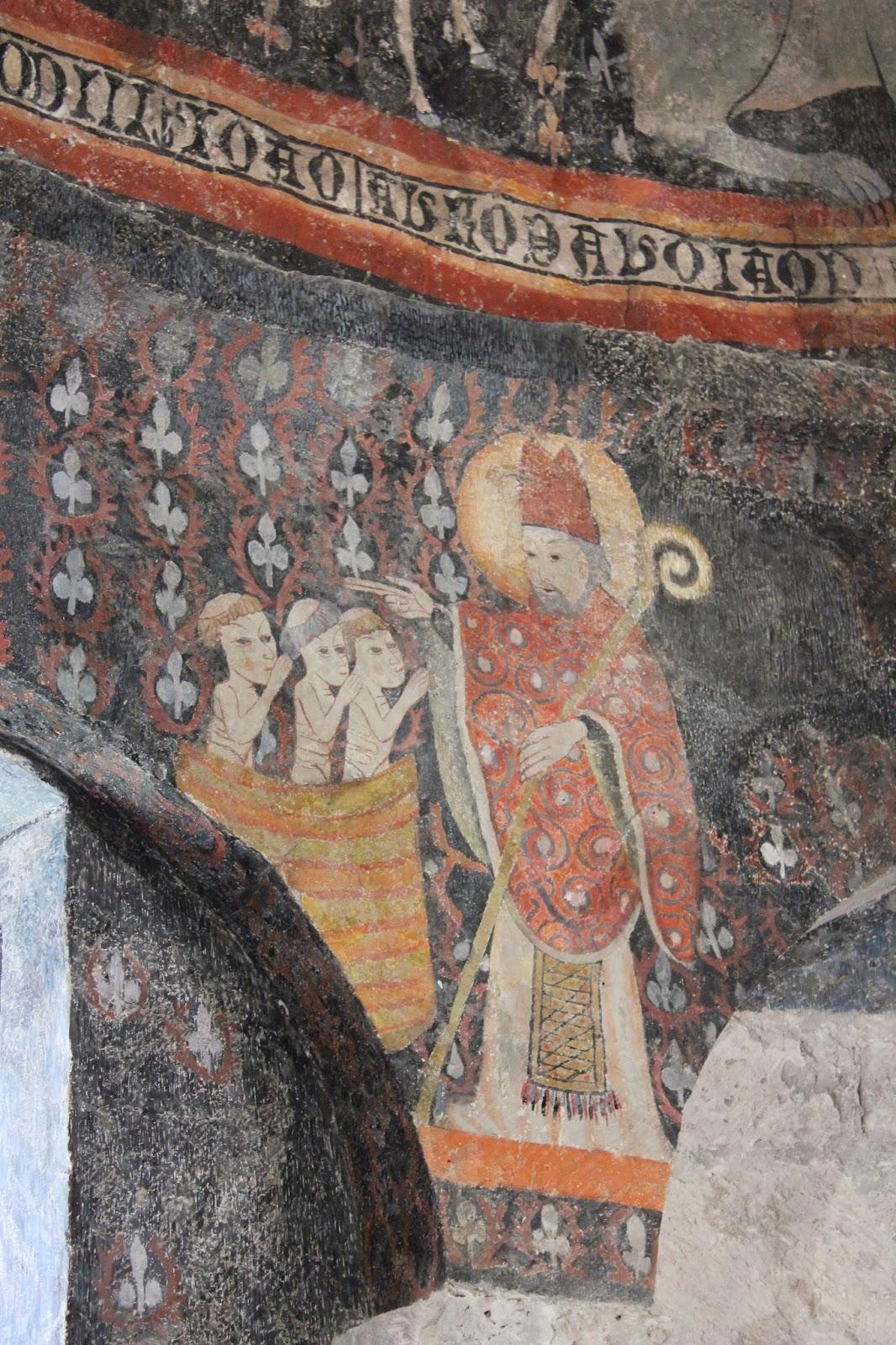 Resultado de imagen de San Nicolás de Santa Maria de Taüll    Columna meridional