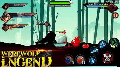 Werewolf Legend v2.0 Mod Apk (Mega Mod)2