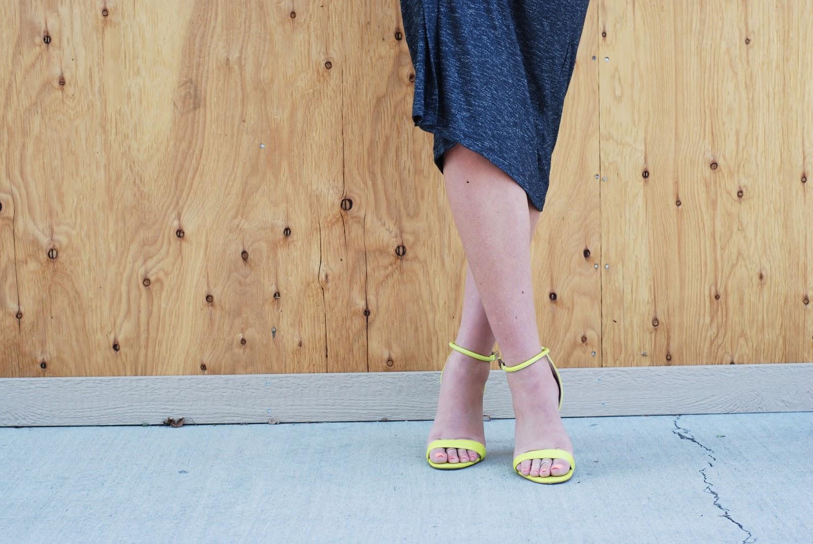 Neon Heels, Dress