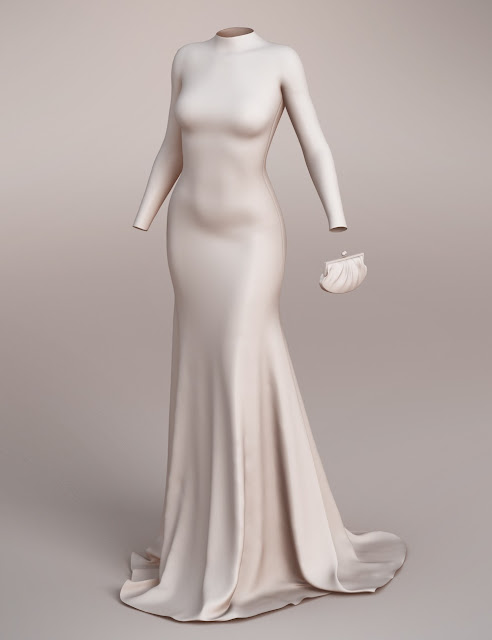 Vogue Evening Gown for Genesis 3 Female