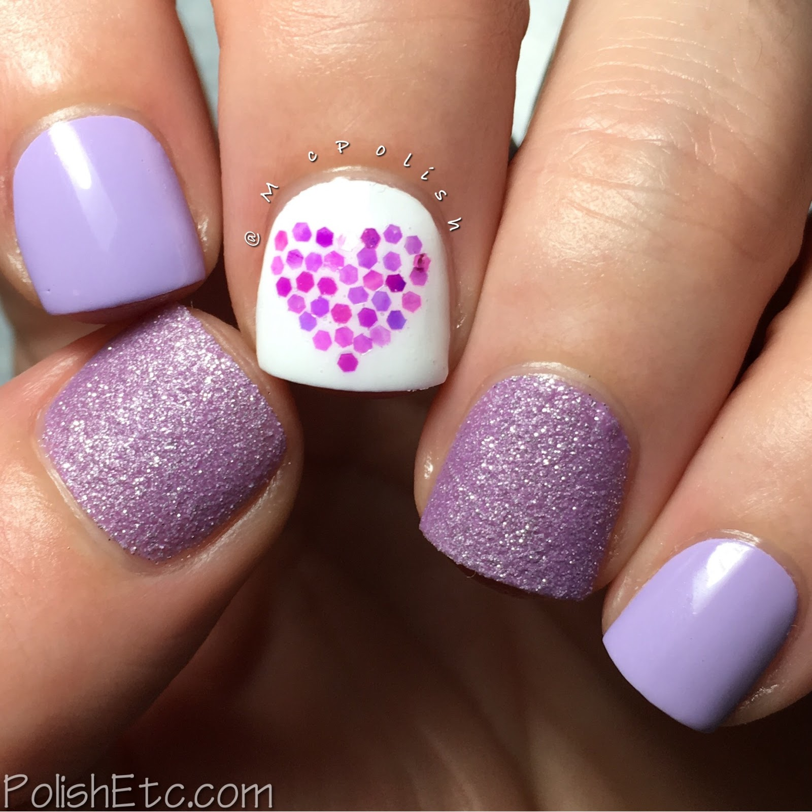 Purple skittlette for the #31DC2017Weekly - McPolish  - Zoya Stevie and Abby