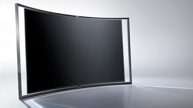 Curved 4k TV