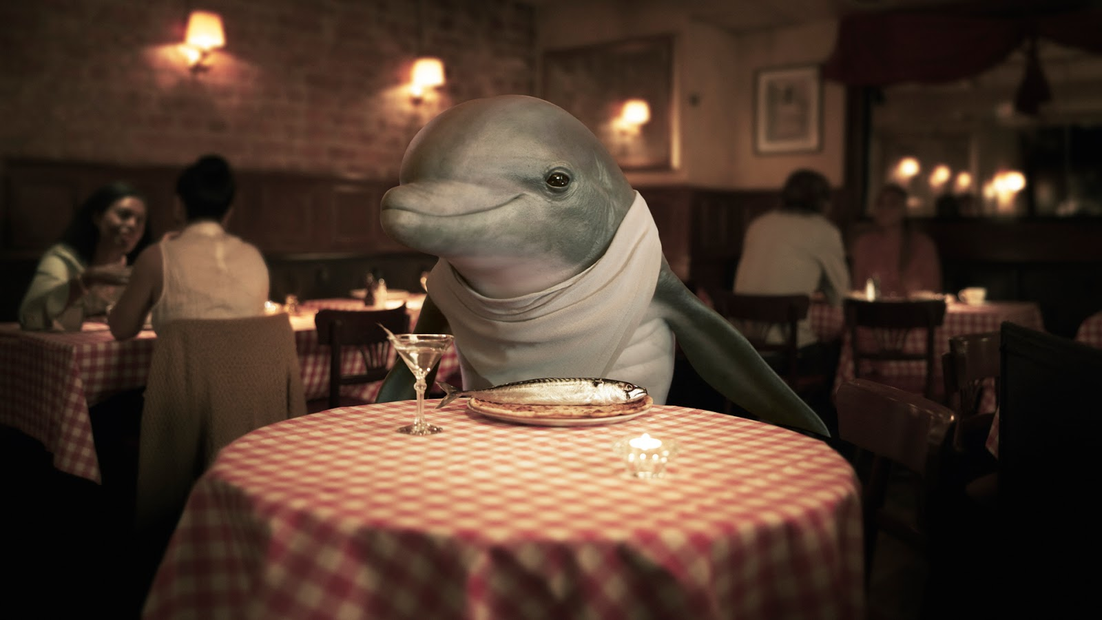 Hyped Fintech Anyfin Attacks Loan Sharks With New Spokesdolphin Adstasher