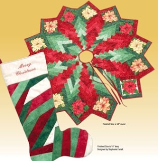 Quilt Inspiration: Free pattern day! Christmas Tree skirts : christmas tree skirt pattern quilt free - Adamdwight.com