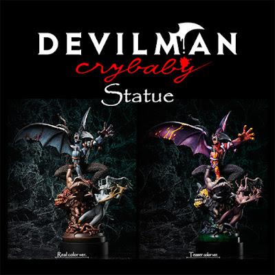 Devilman Crybaby Statue da Aniplex Plus e Gecco