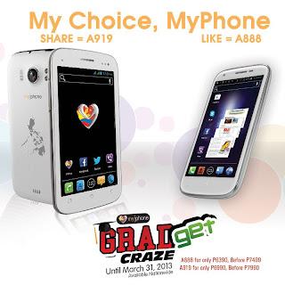 MyPhone's Graduation Sale 'Gradget Craze'