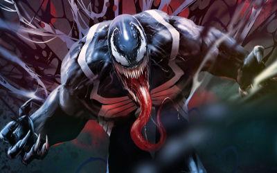 Venom Comics Artwork - Fond d'écran en Ultra HD 4K 2160p