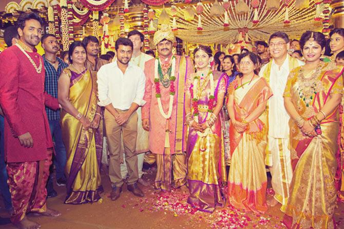 Sushilkumar Shinde, Ujawala., Manoj Manchu and Pranathi Reddy Wedding Pics