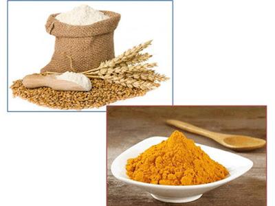 làm trắng da với bột mì (2)