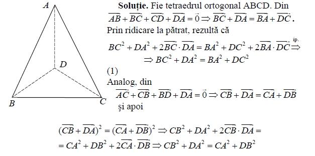 tetraedru ortogonal