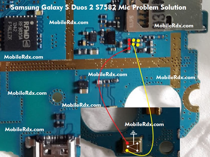 Samsung s6802 mic solution