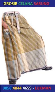 Jual Celana Sarung Hitam & Putih