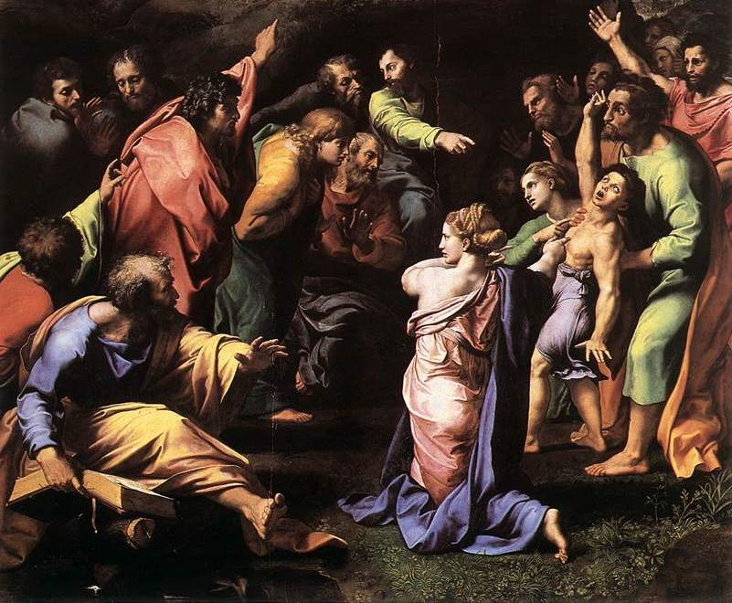 Raphael's Transfiguration of Christ | Catholic News Live