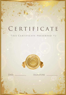 Business Award Certificate Template Word Nhuwo