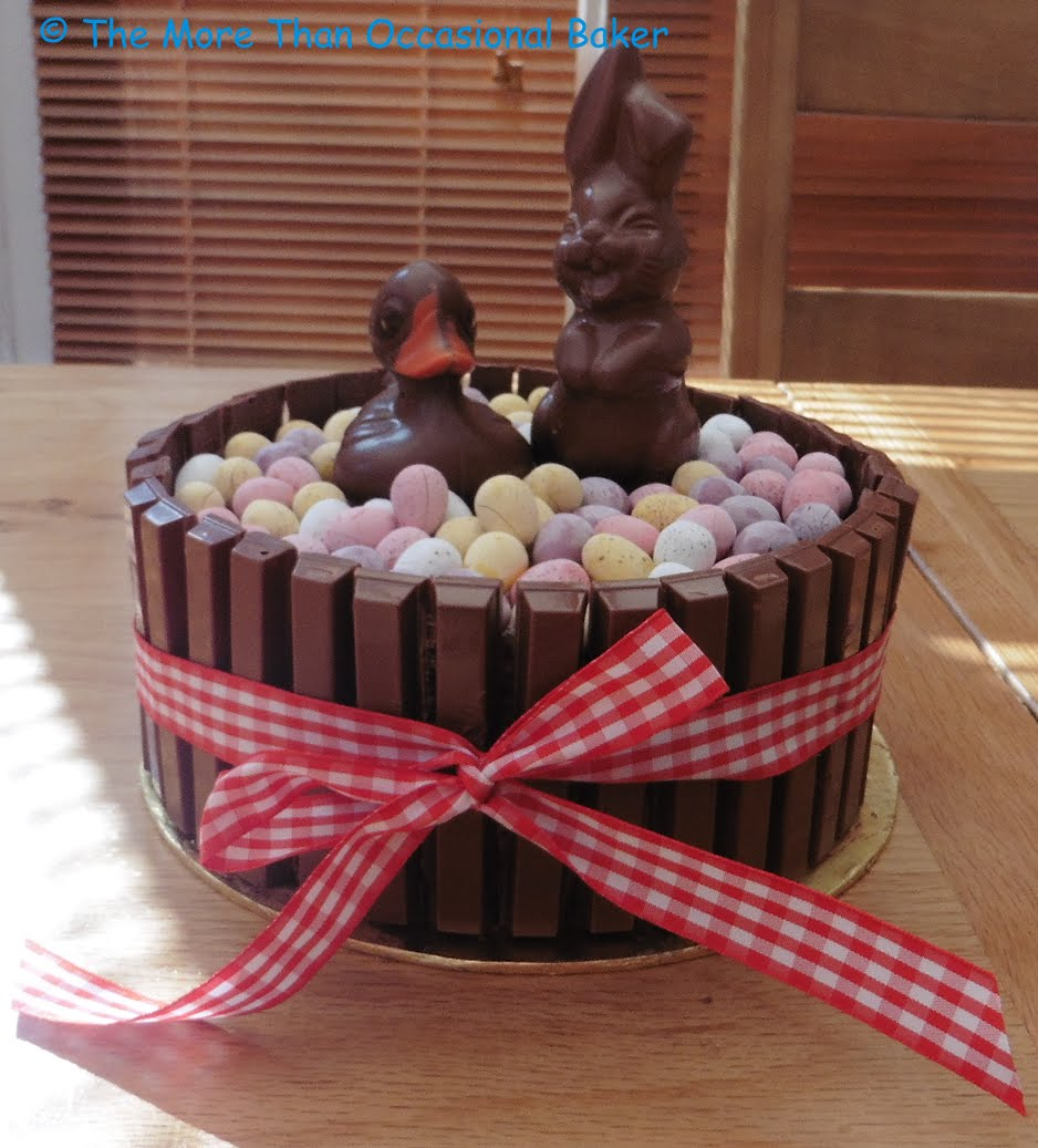 The More Than Occasional Baker: Chocolate Easter Cake