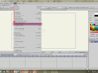 Cara menampilkan opsi Layer Visibility pada Timeline di Anime Studio (Moho) Pro