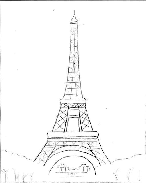 Plantillas de la Torre Eiffel. | Ideas y material gratis para ...