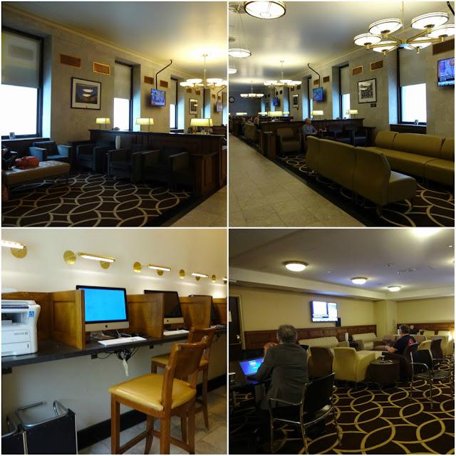 Business Lounge Union Station Toronto Canadá