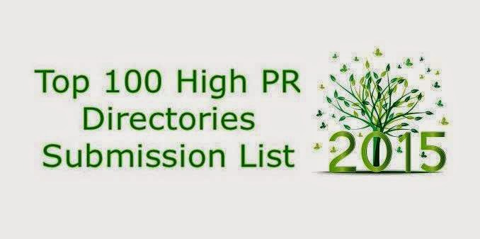 Top 100 High Pr Directory Submission Sites List 2019