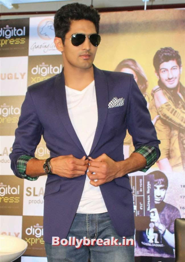 Vijender Singh, Akshay Kumar,  Vijender Singh, Jimmy Shergill at Fugly Movie Trailer Launch