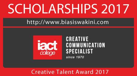 Creative Talent Award 2017