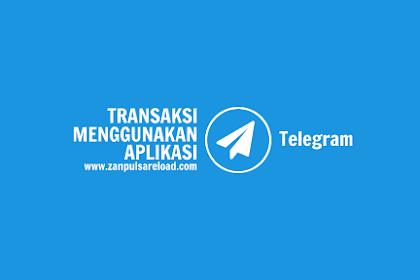 Transaksi Pulsa Menggunakan Telegram
