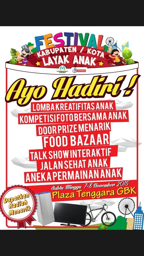 Festival Kabupaten / Kota Layak Anak (KLA)