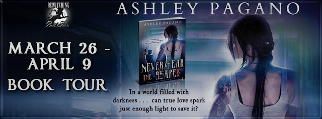 Interview & Giveaway with Ashley Pagano, author of Never Fear the Reaper