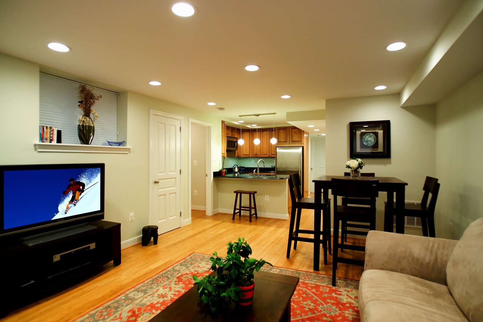 Finished Basement Decorating Ideas ~ Instant Knowledge