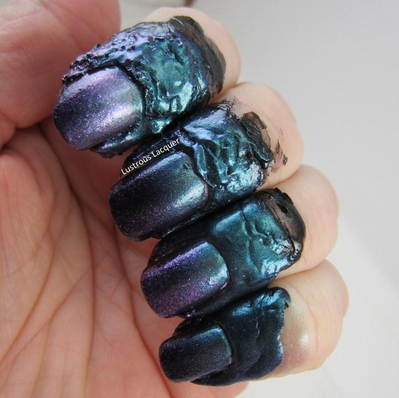 Proclaim Hair glue for nail art? - <em>Lustrous Lacquer</em>