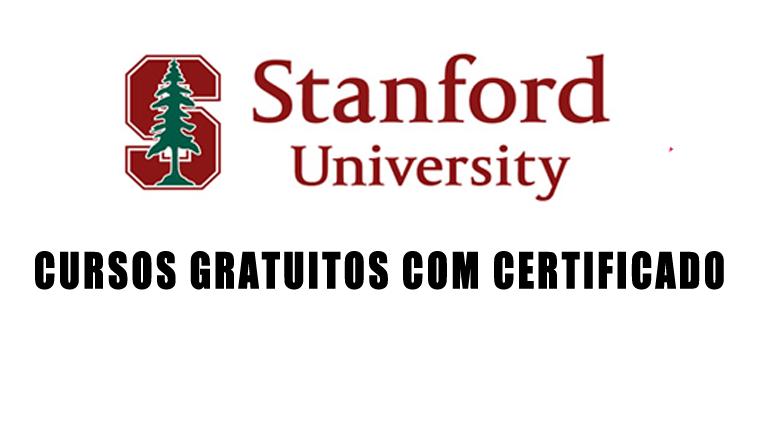 Stanford oferece 33 cursos GRATUITOS com certificado