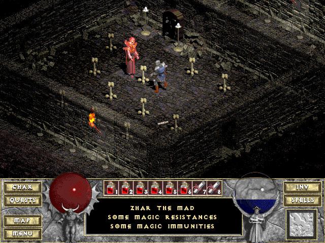 Diablo 1 Blizzard Captura de pantalla 11