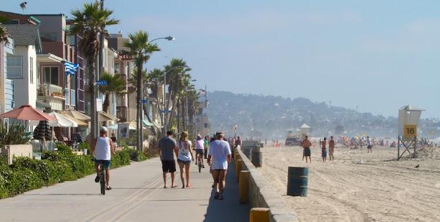 San Diego em agosto