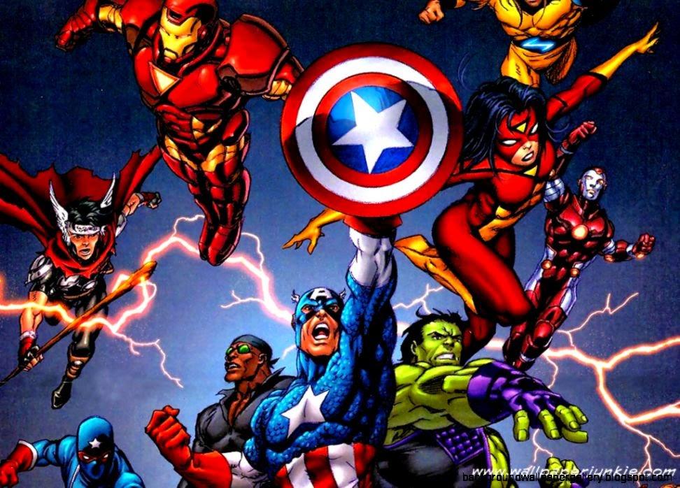 The avengers cartoon wallpapers hd desktop background - Iron man cartoon hd ...