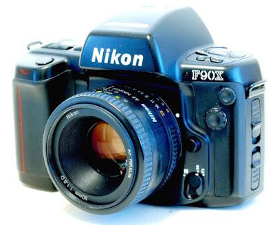 Nikon F90X, AF Nikkor 50mm F1.8 D