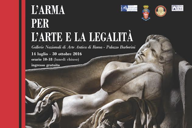 An exhibit of stolen masterpieces recovered by the Italian Carabinieri opens in Rome